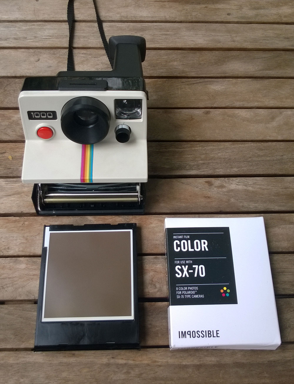 polaroid 1000 land camera an experiment all about gestaltung rh allaboutgestaltung com Polaroid Land Camera Models Polaroid OneStep Land Camera