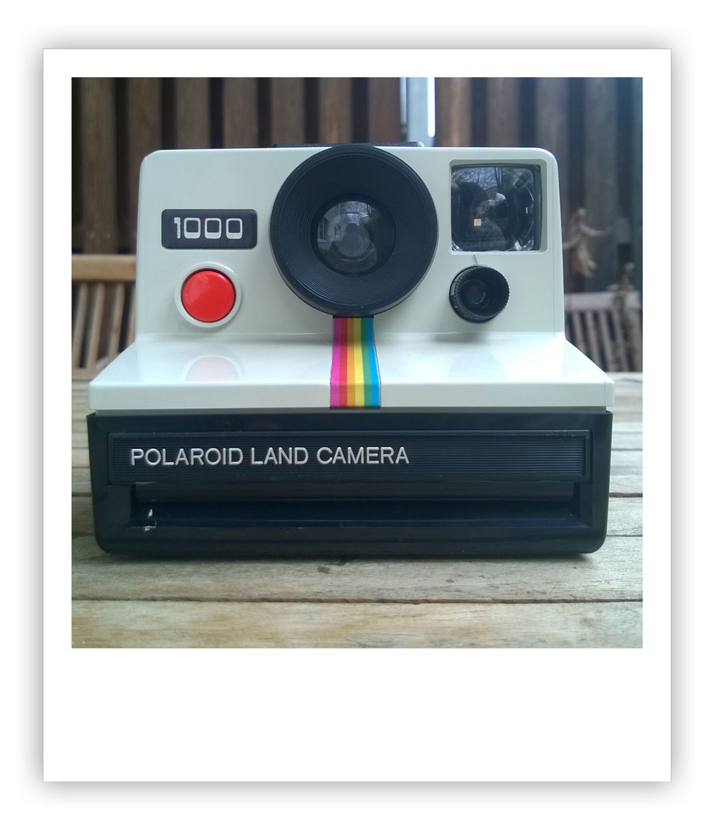 Polaroid 1000 Land Camera  An Experiment  | All About Gestaltung